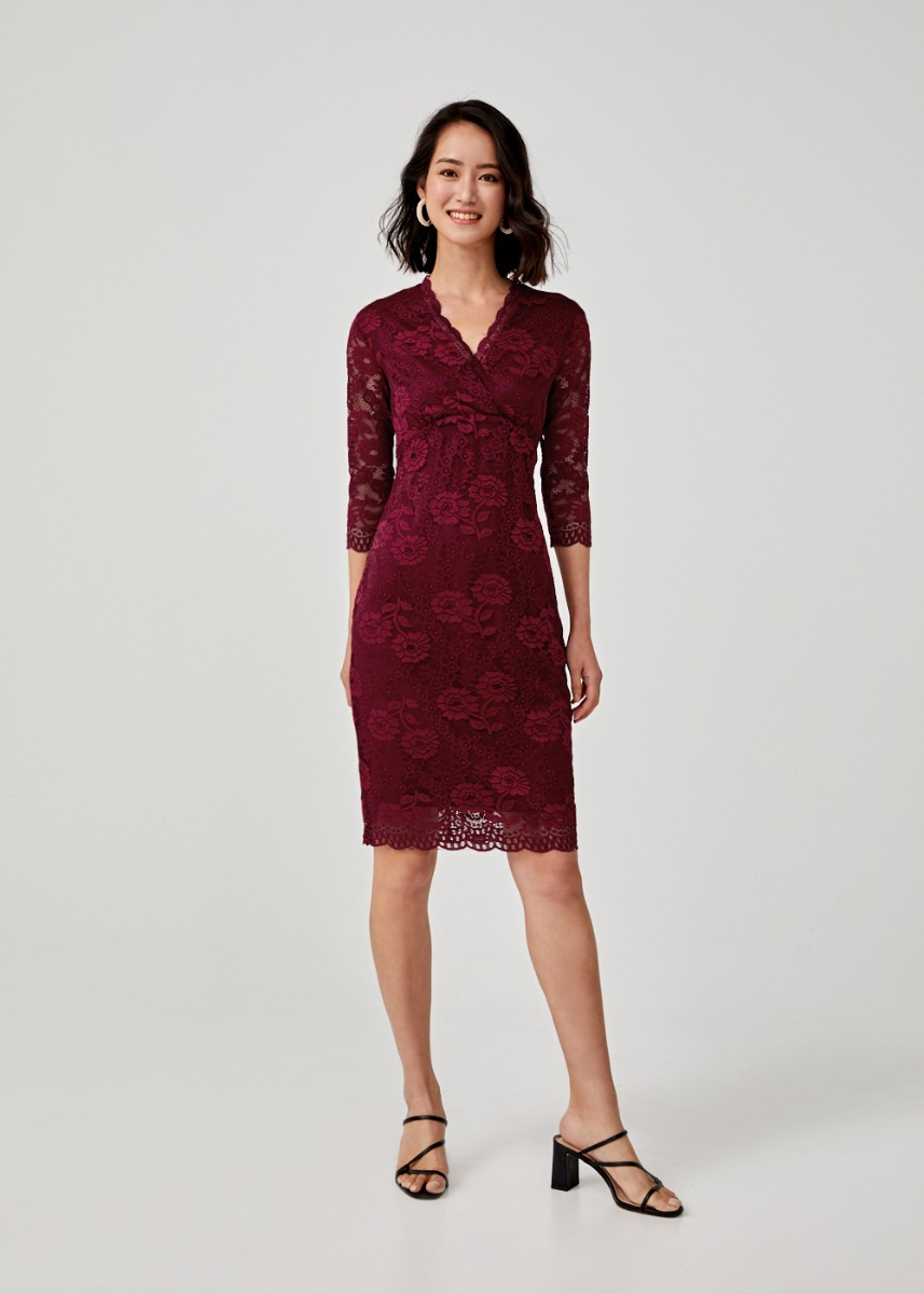 Claudita Lace Bodycon Dress