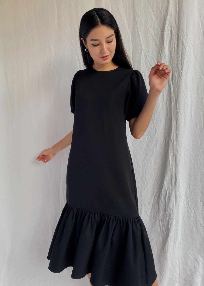 Noelia Puff Sleeve Dress