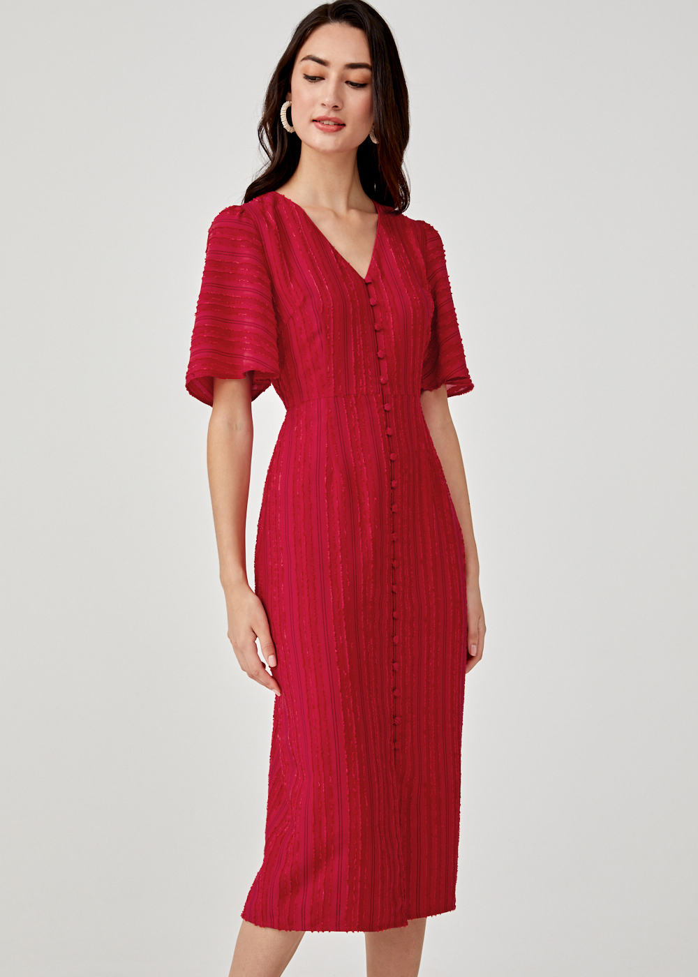 Petria Jacquard Dress