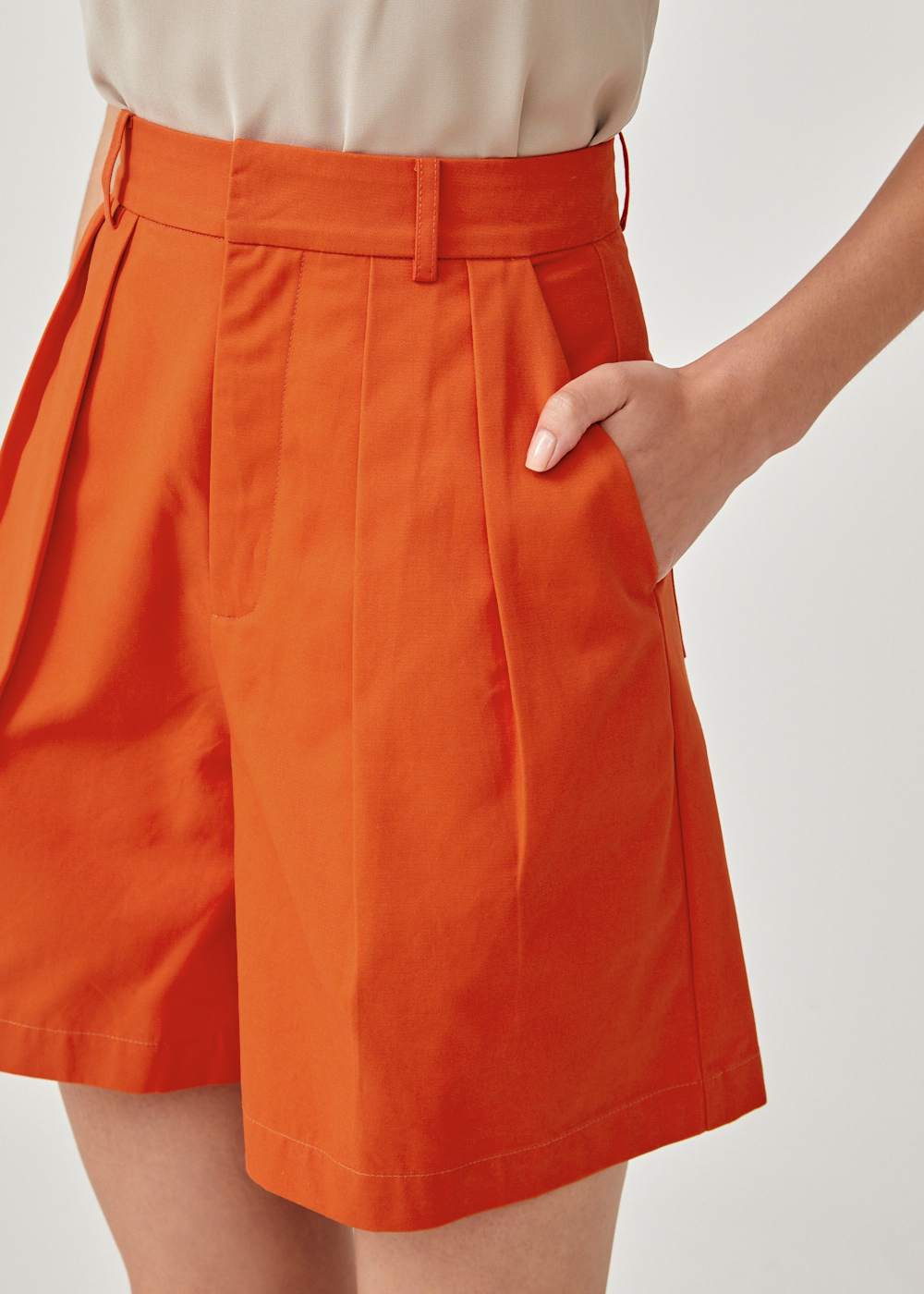 Amarantha High Waist Shorts