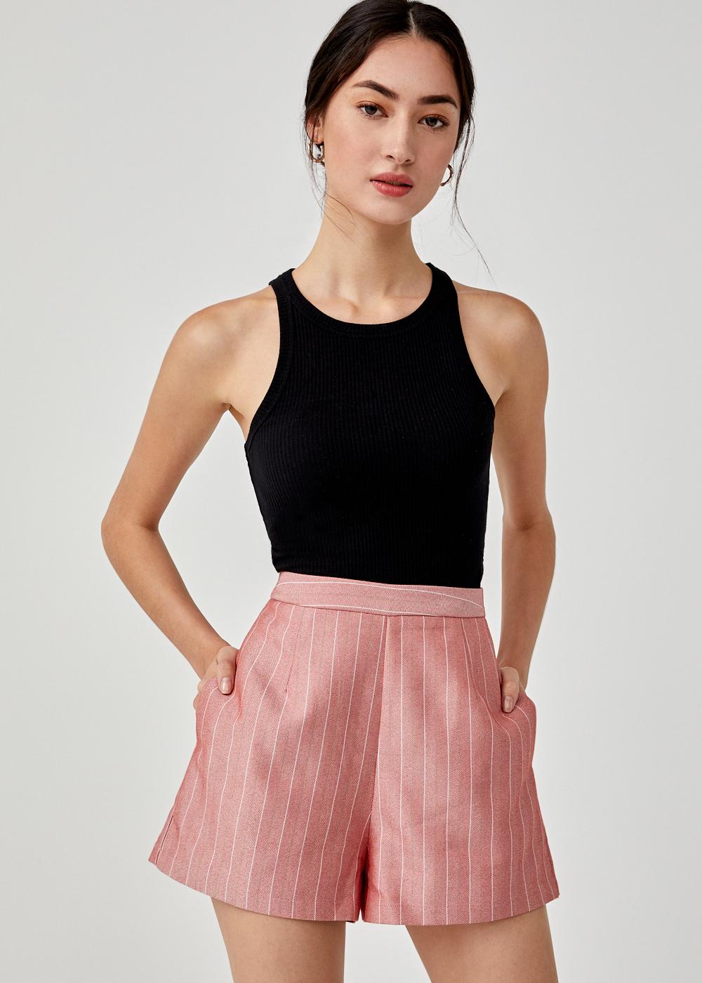 Liya High Waist Shorts