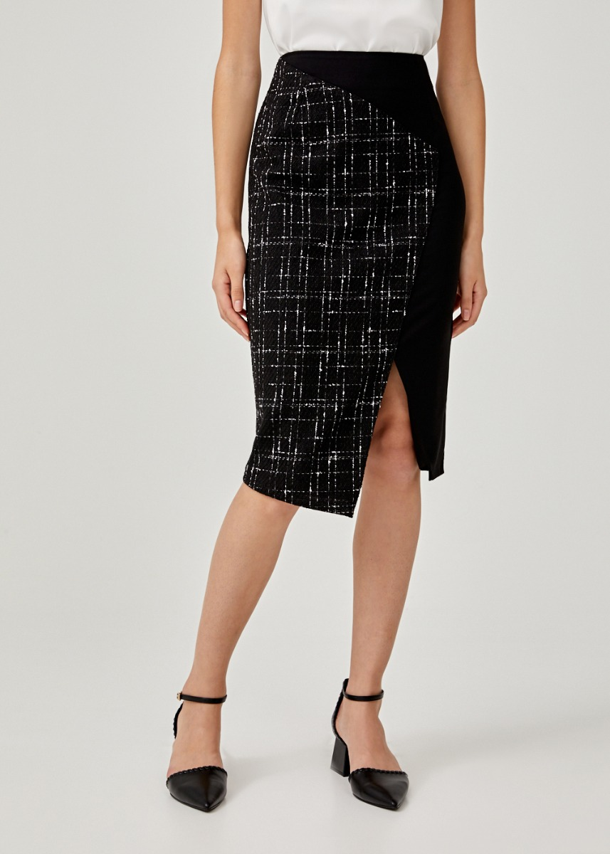 Torina Tweed Pencil Skirt