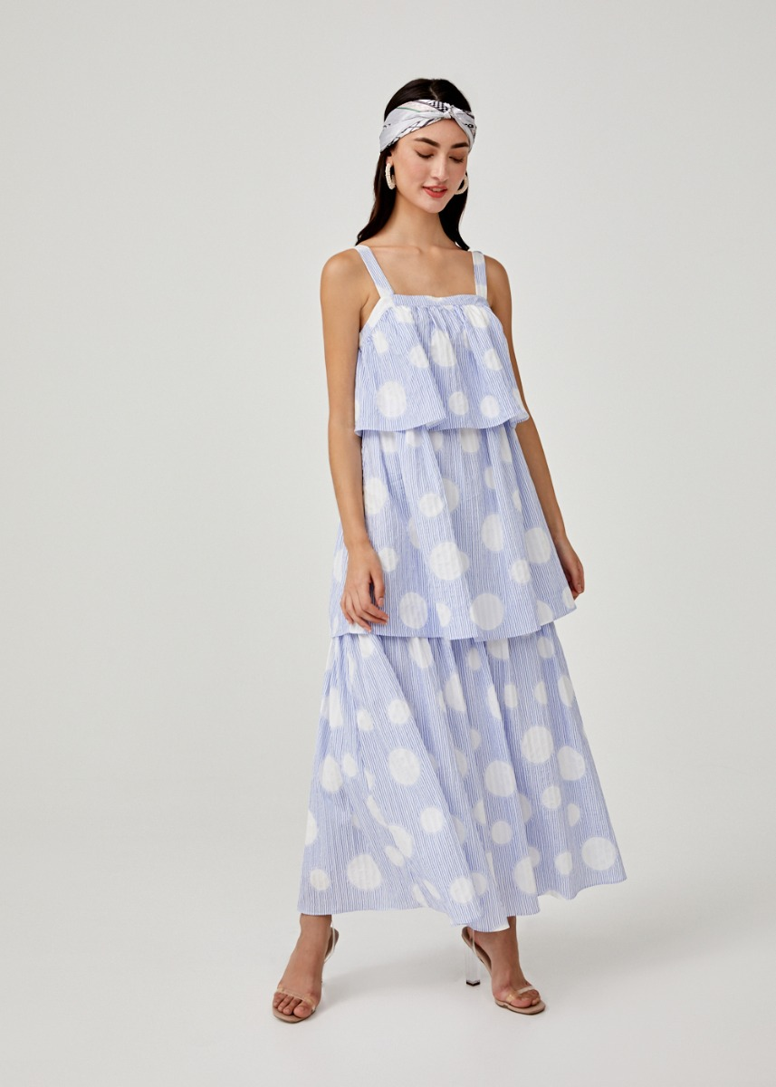 Ainsley Tiered Maxi Dress