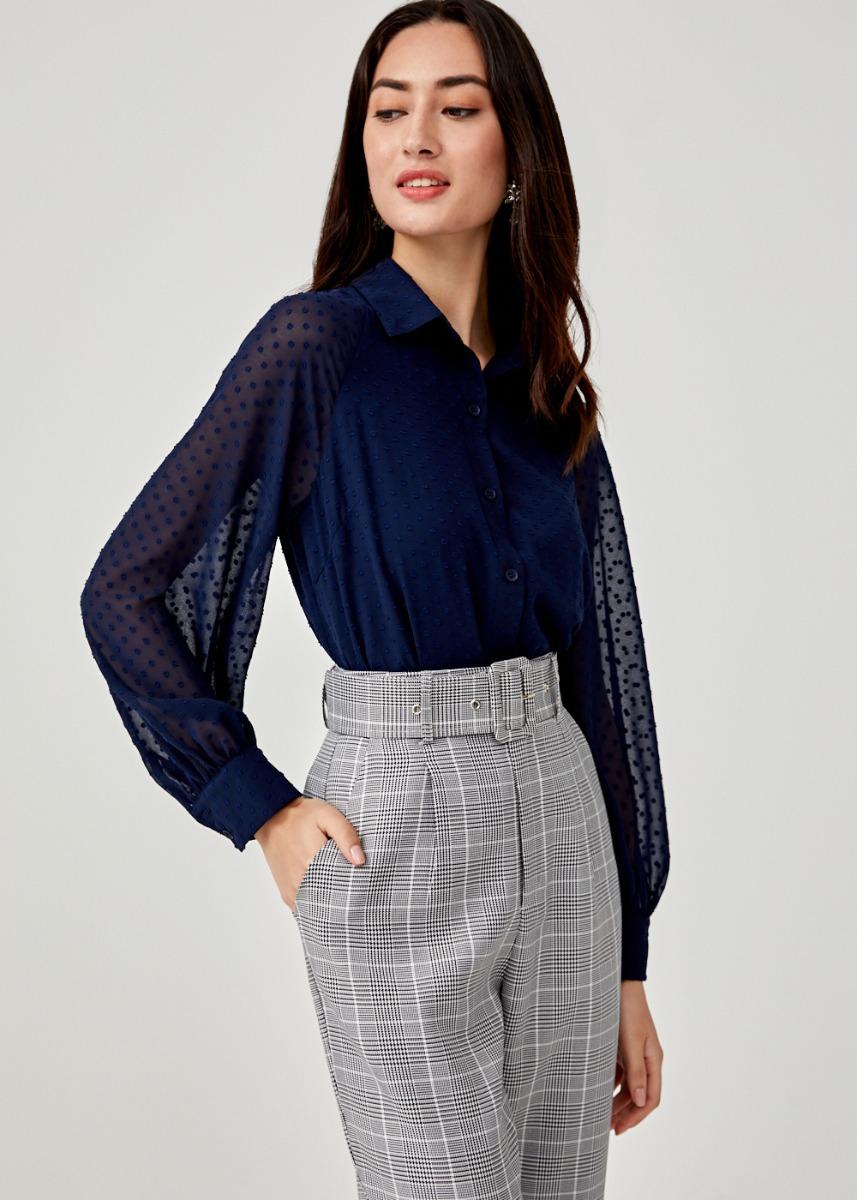 Leonie Dobby Dot Shirt