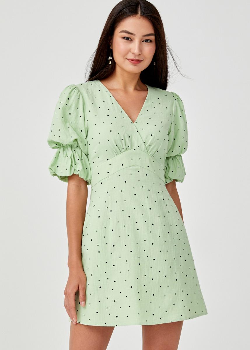 Renada Puff Sleeve Dress