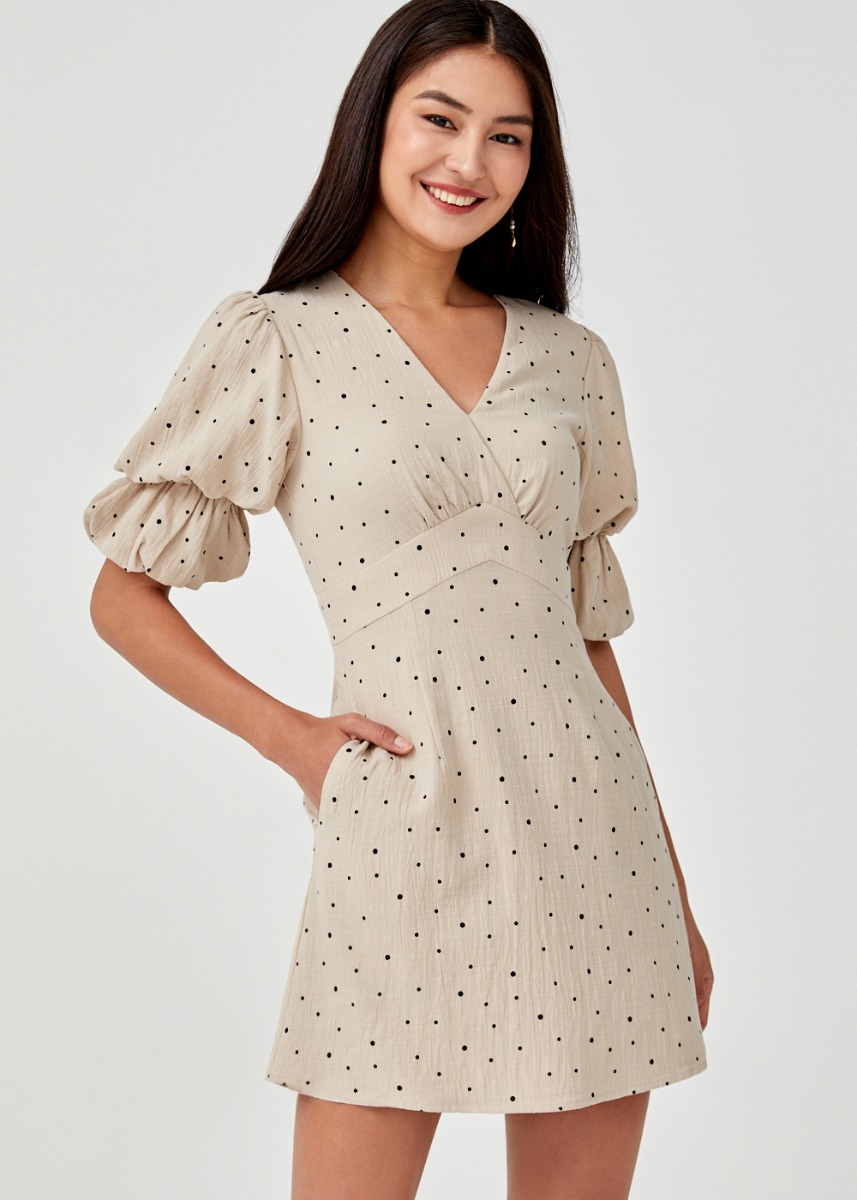 Renada Puff Sleeve Dress