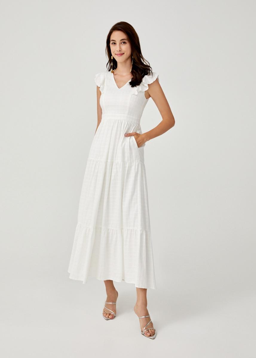 Pearla Tiered Maxi Dress