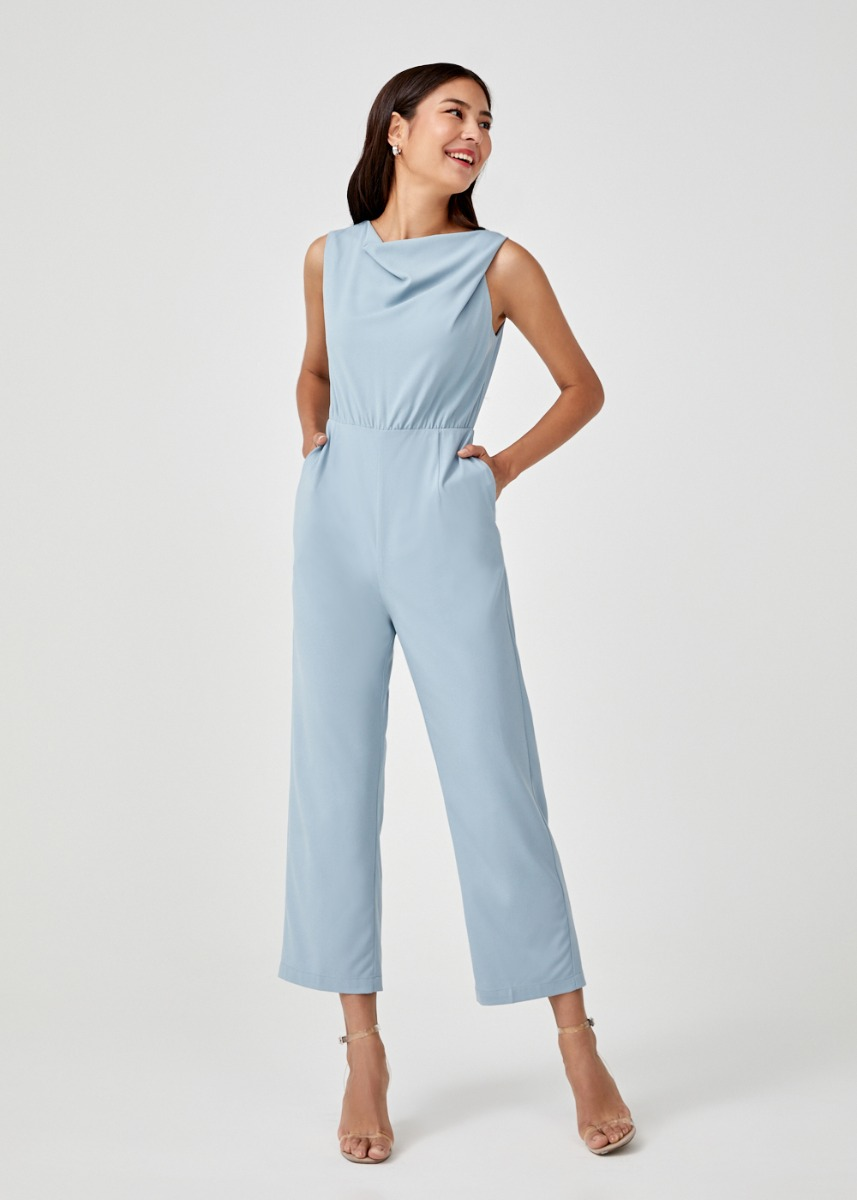Jamia Cowl Neck Jumpsuit