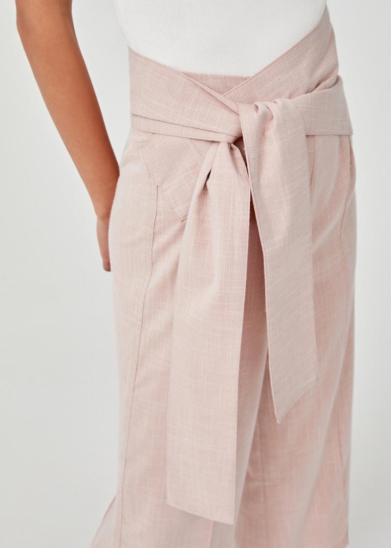 Charisse Wrap Sash Culottes
