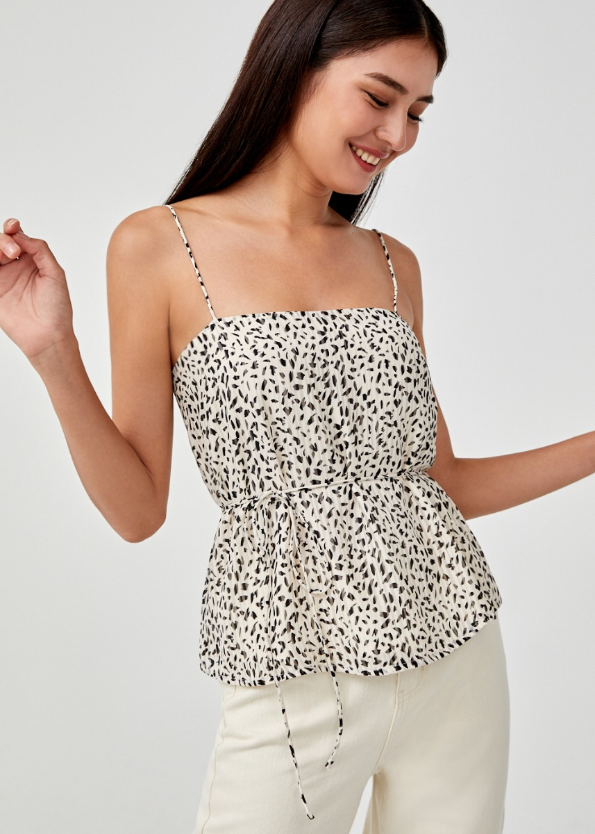 Carmela Printed Camisole Top