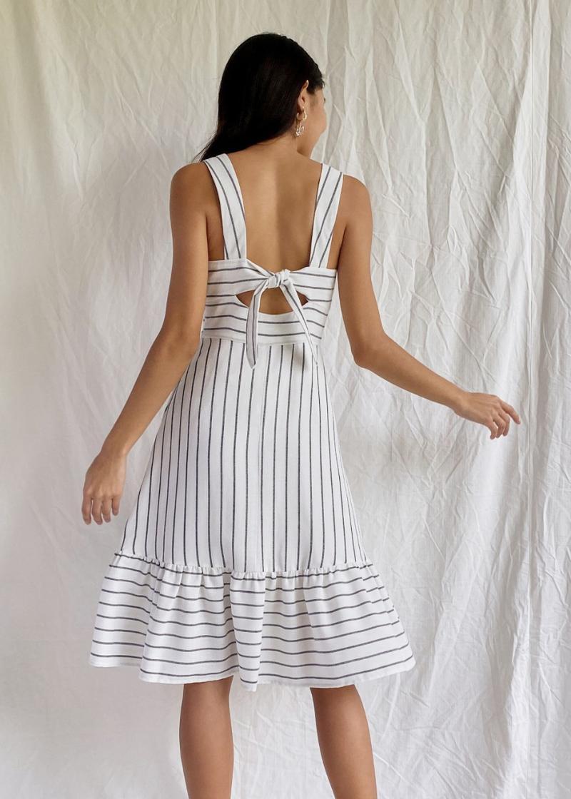 Jaylee A-line Tie Back Dress
