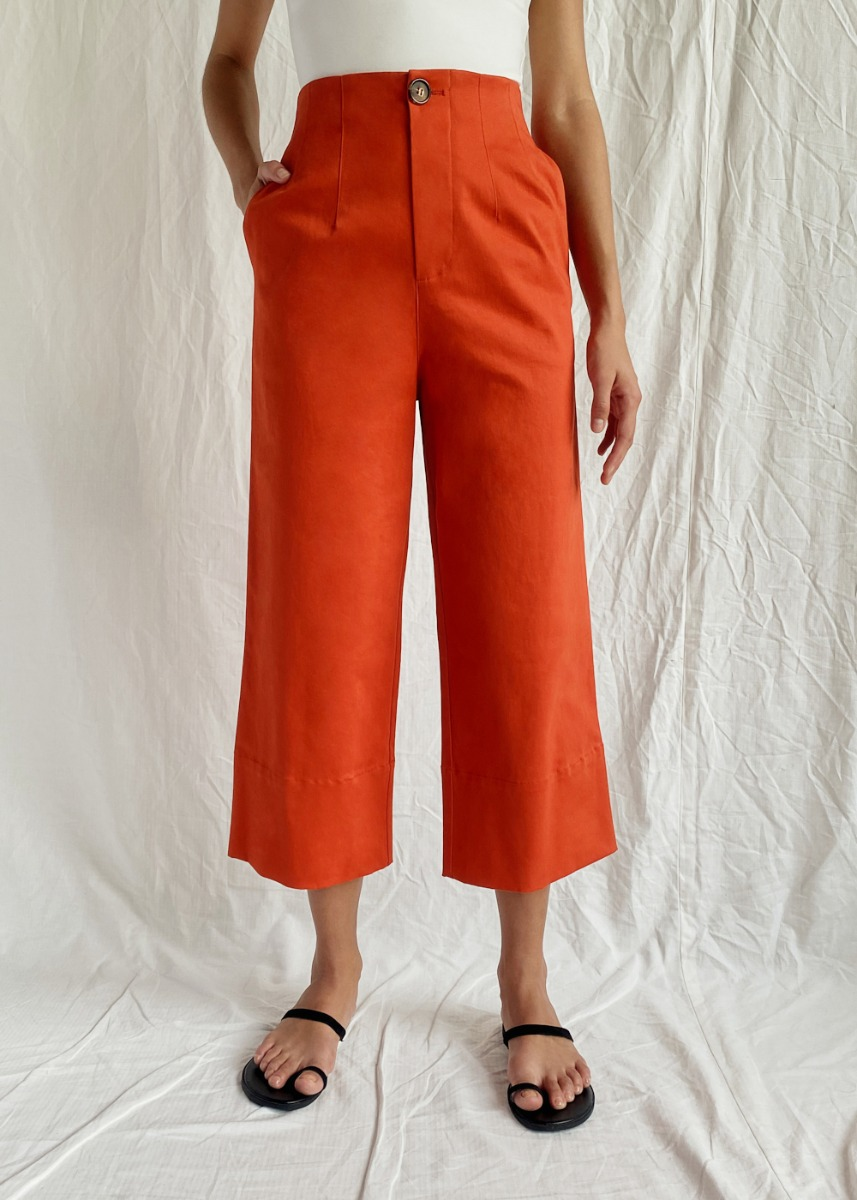 Galena Tailored Wide Leg Pants