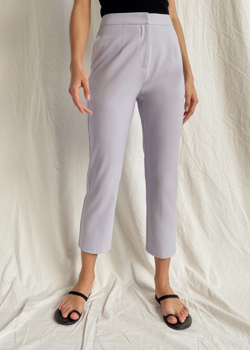 Aalya Tailored Peg Leg Pants
