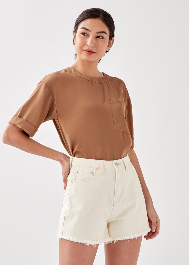 Bethie Relaxed Pocket Tee