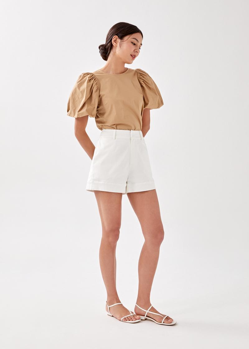 Amina Tailored Stitch Shorts