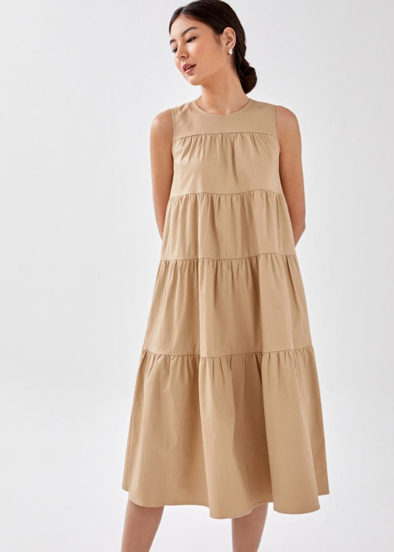 Norie Tiered Maxi Dress
