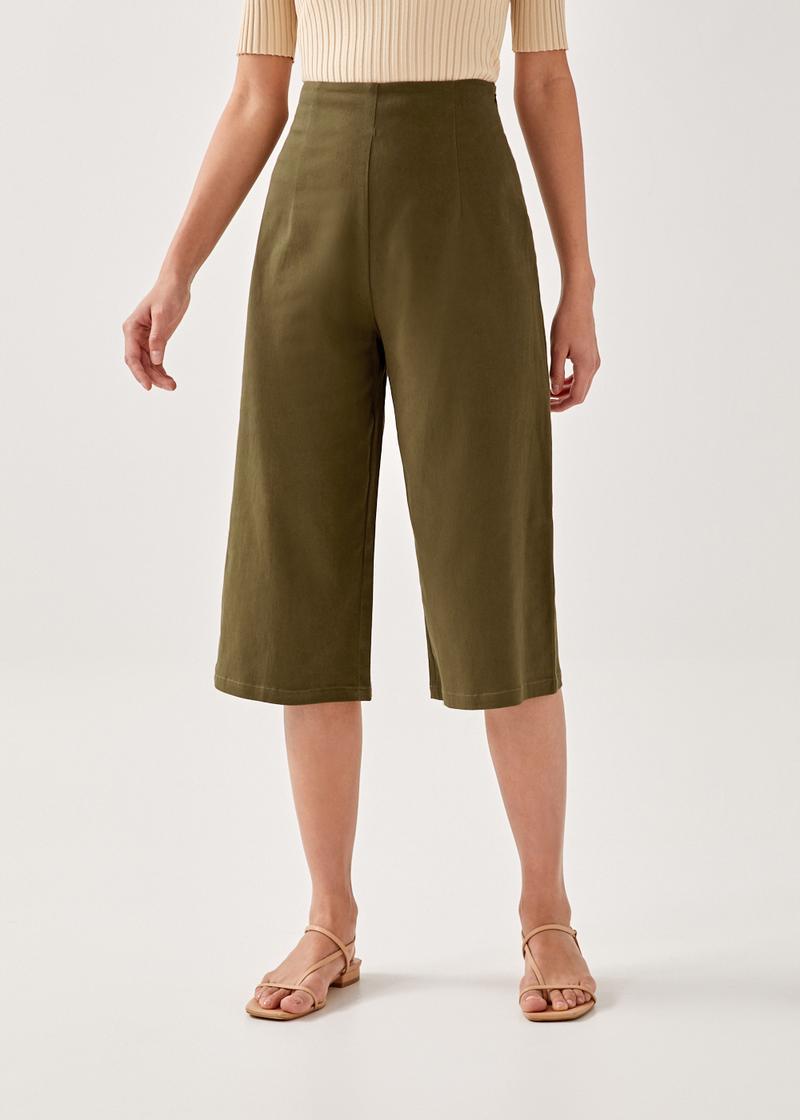 Anyssa Wide Leg Culottes