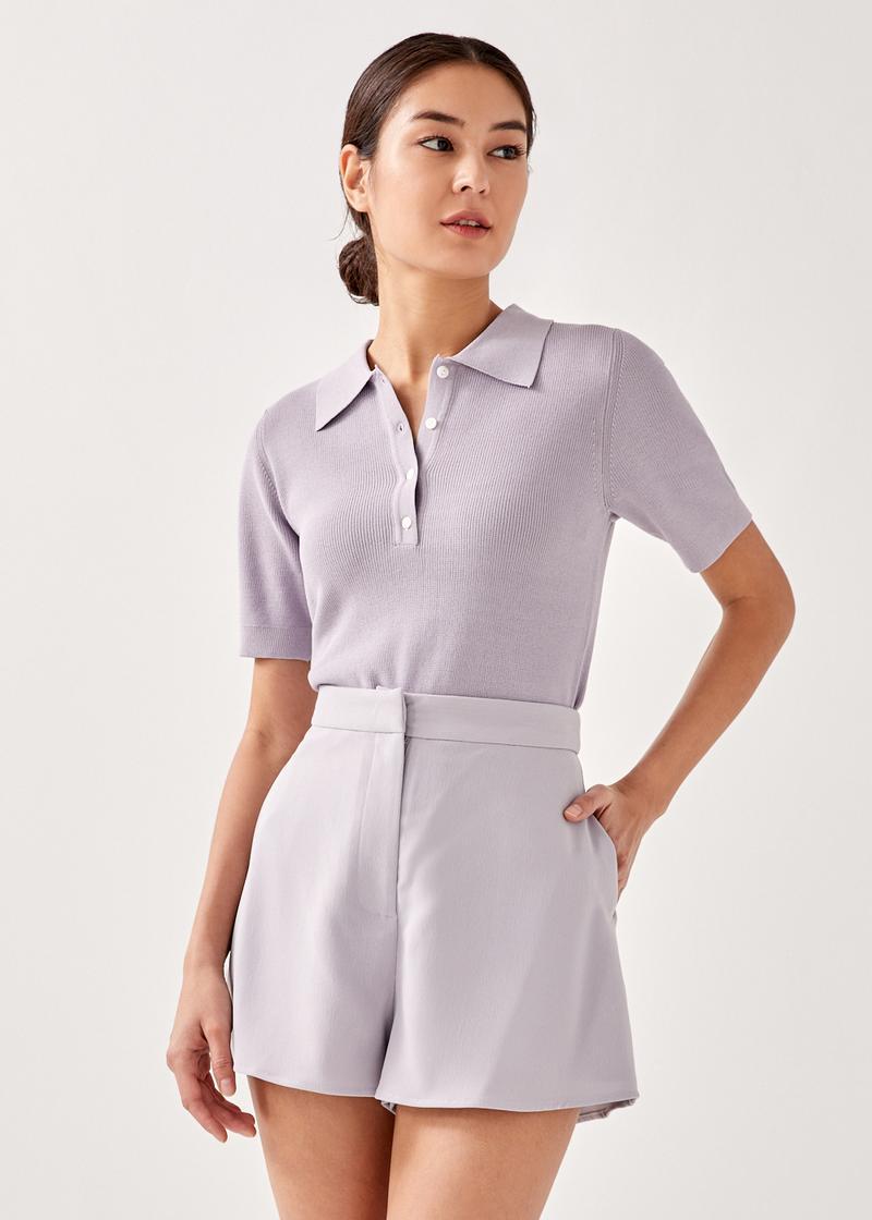 Aubryn Knit Polo Shirt