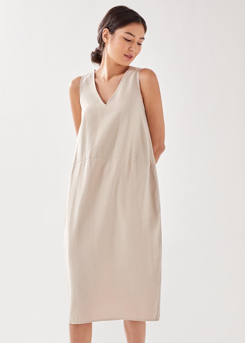 Therosia Relaxed Midi Dress