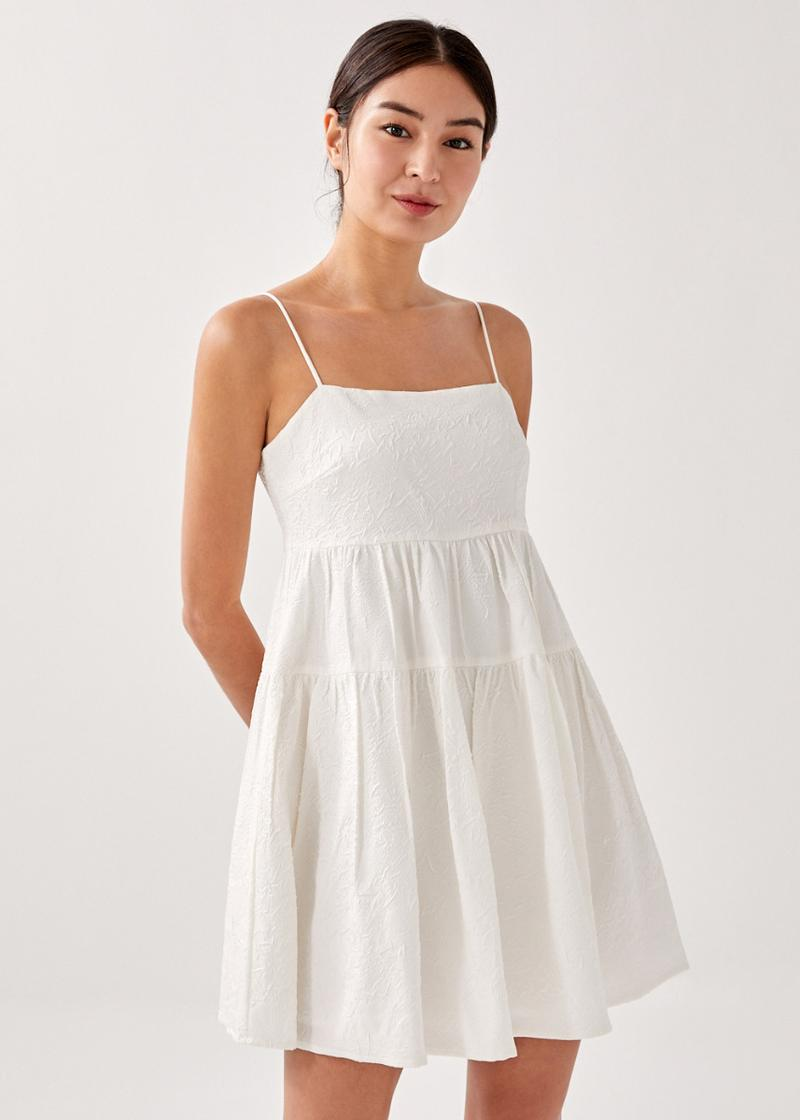 Kivia Textured Mini Dress