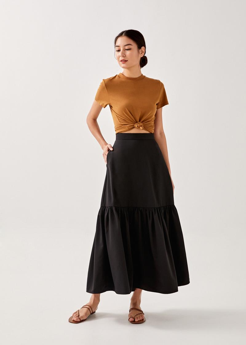 Kamela Tiered Maxi Skirt