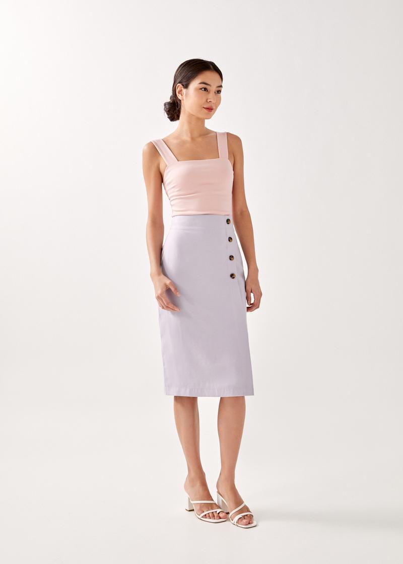 Deliah Pencil Midi Skirt