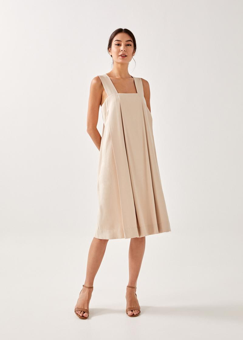 Violette Pleated Dress
