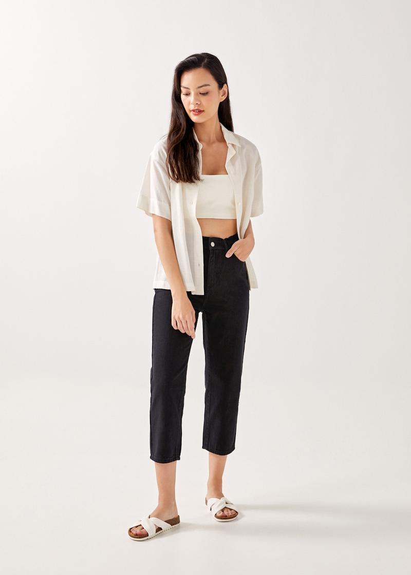 Zela Elastic Waist Jeans