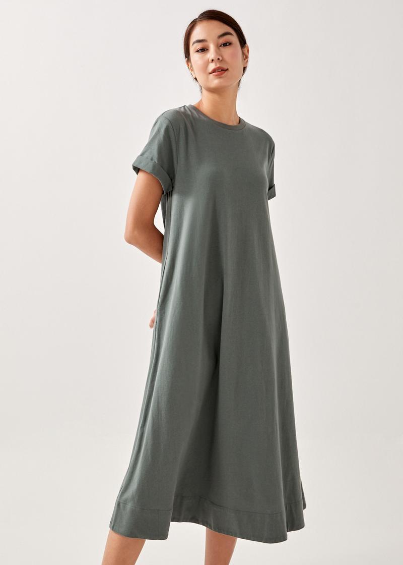 Novia T-shirt Midaxi Dress