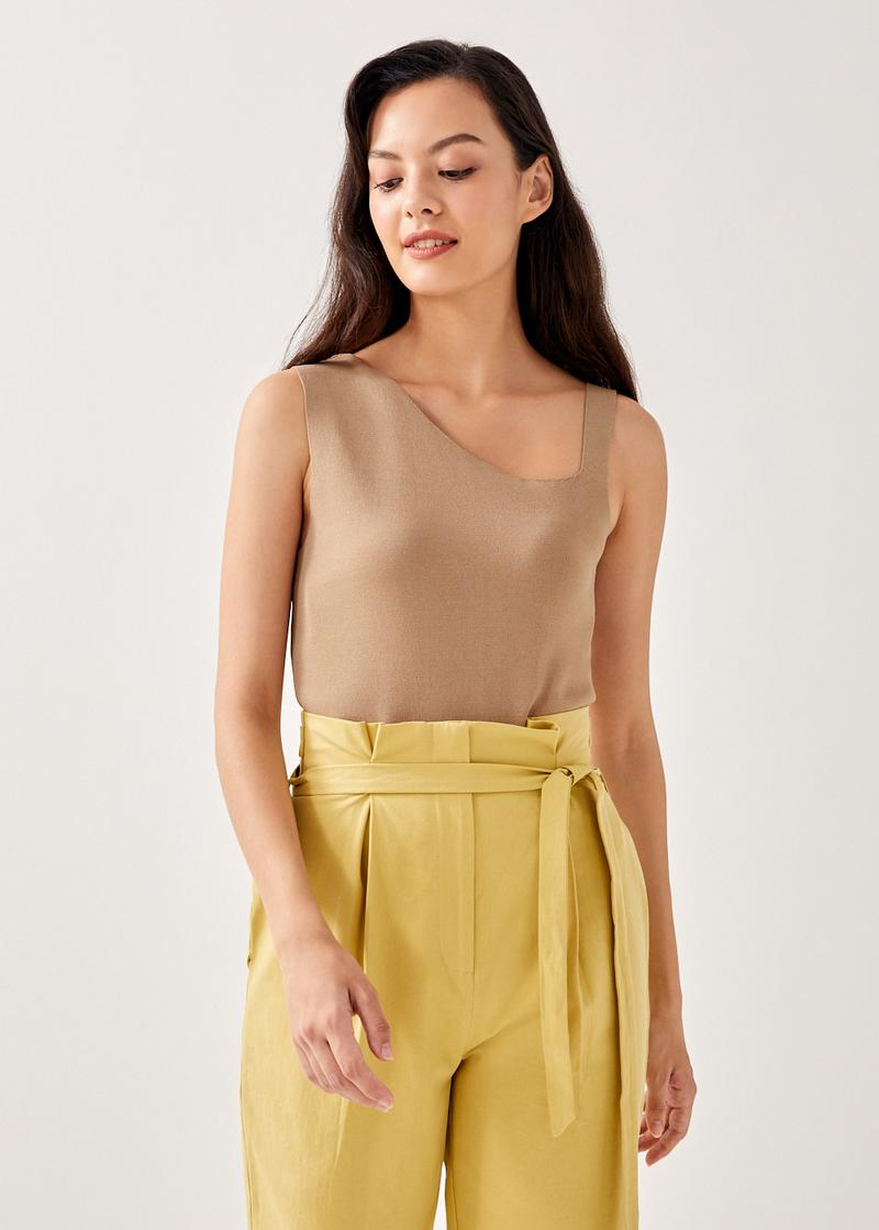 Alice Asymmetrical Knit Top
