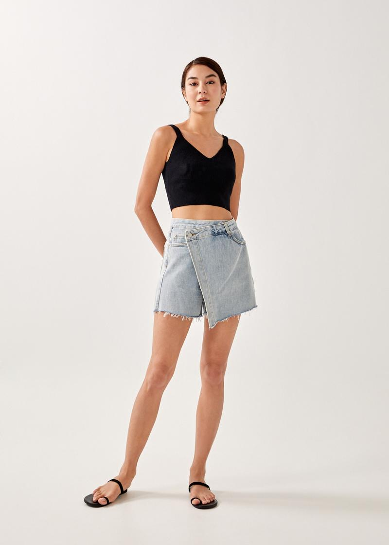 Alla Knitted Cropped Top
