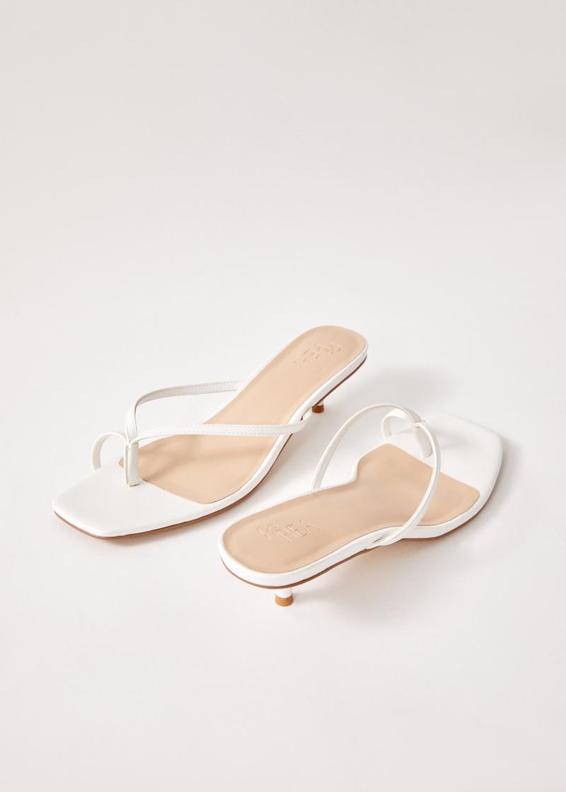Alby Kitten Heeled Sandals