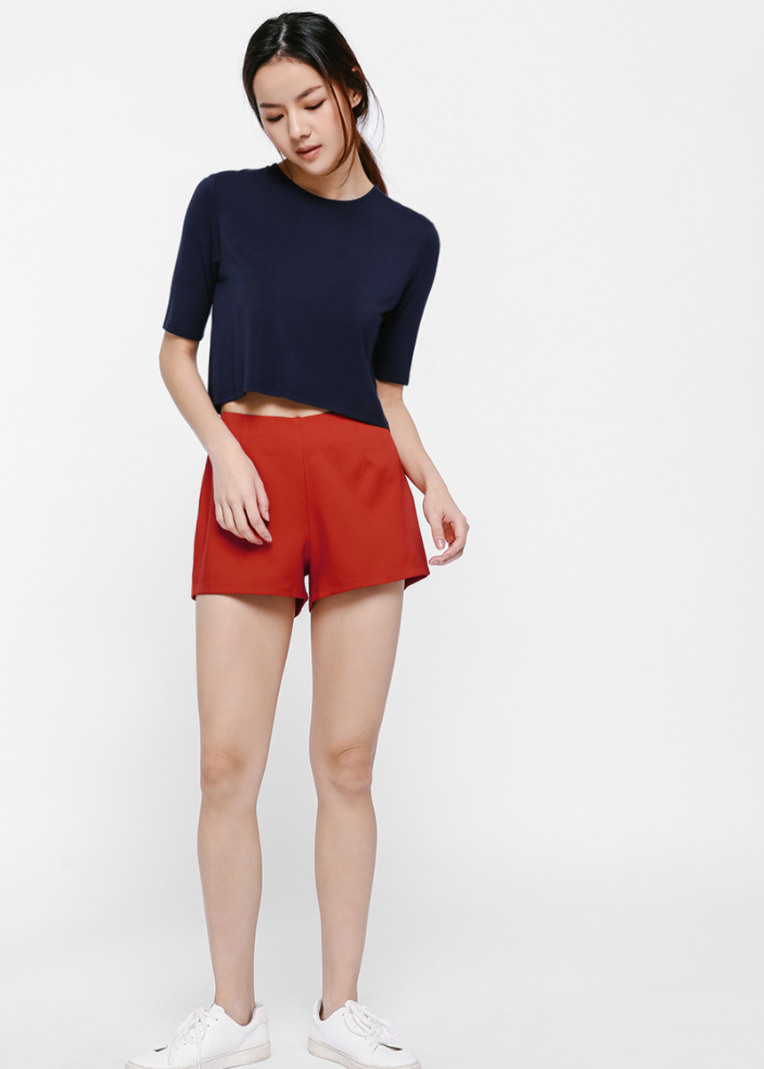 Tricia Relaxed Fit T-shirt-052-XS