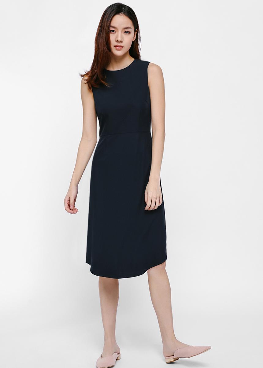 Phoebe Midi Dress-052-L