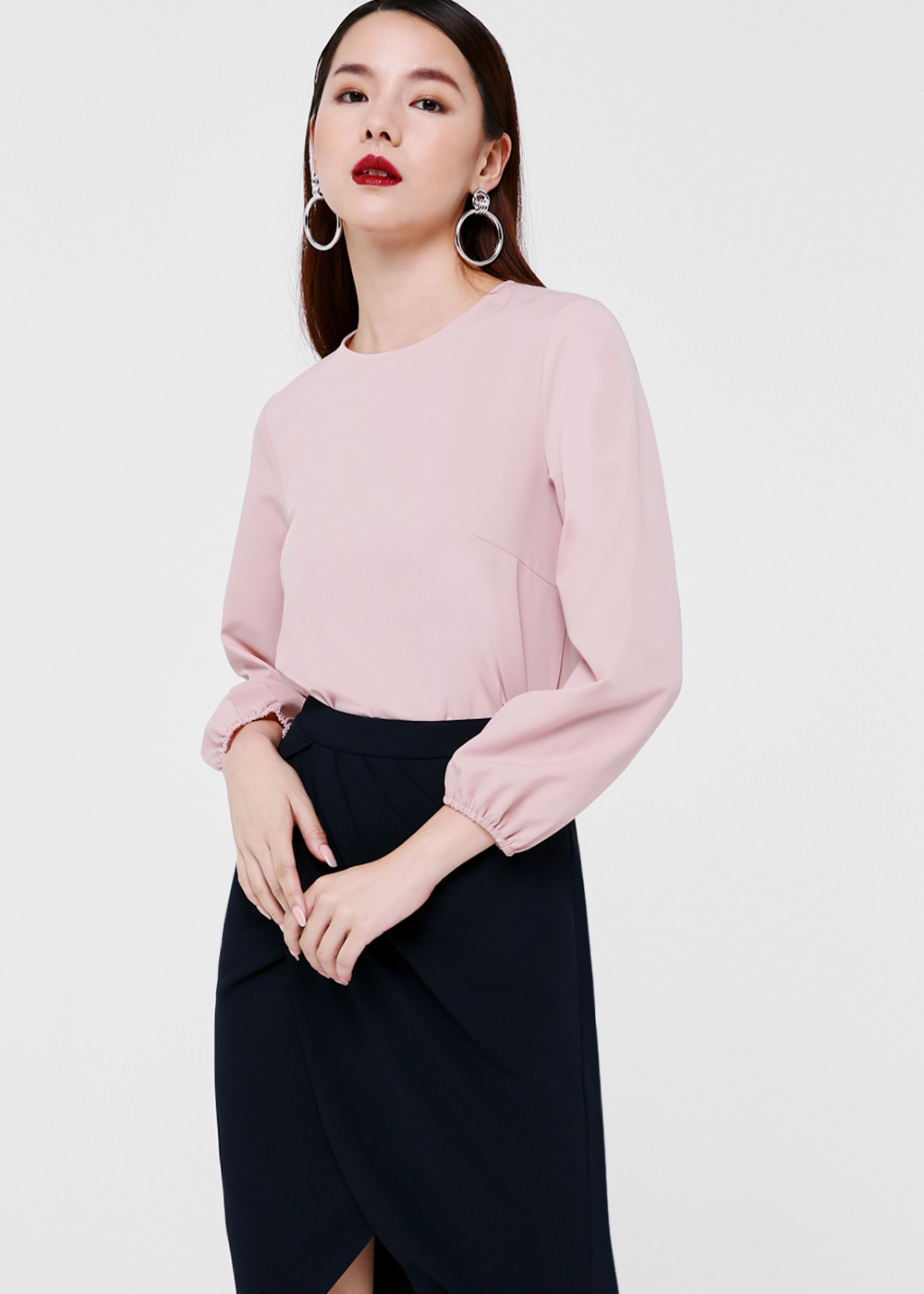 Nyomi Puff Sleeve Blouse