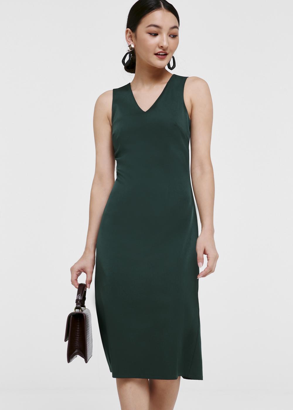 Revel V-neck Midi Dress